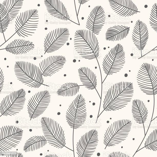 Hand drawn seamless pattern with decorative leaves autumn vector vector id843981626?b=1&k=6&m=843981626&s=612x612&h=8pxqumld2idj3jawxjqan5pd5apx1jkekchbdl2e zc=