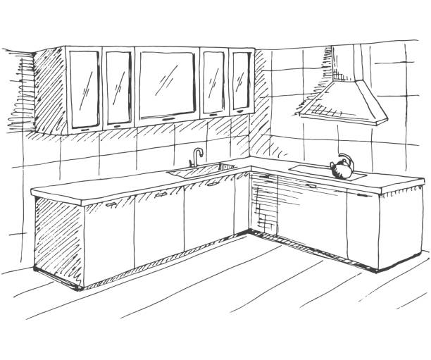 Royalty Free Kitchen Hood Clip Art, Vector Images