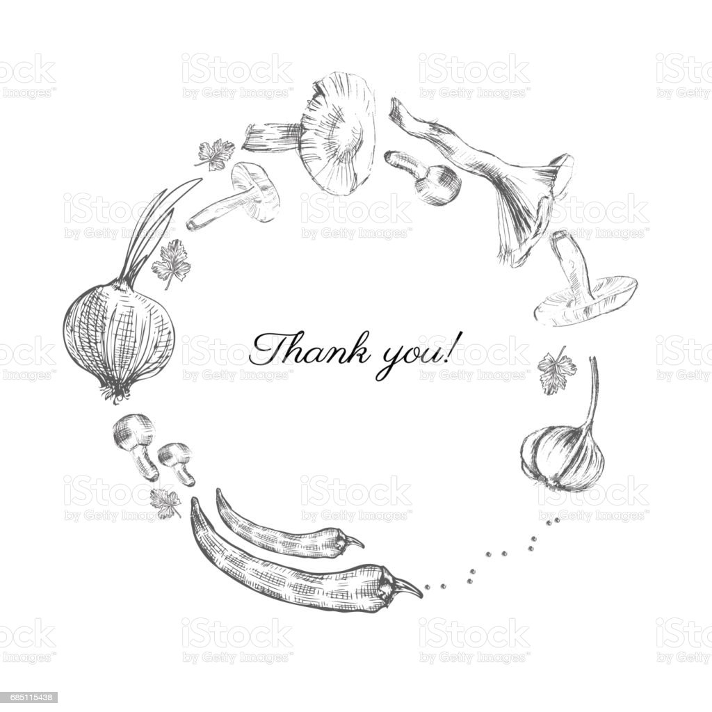 Hand drawn sketch vegetables, Vector illustration mushrooms, olive, pepper, onion isolated on white, Ideal for use in organic food industry, healthy green food market, vegetarian restaurant, cafe menu royalty-free hand drawn sketch vegetables vector illustration mushrooms olive pepper onion isolated on white ideal for use in organic food industry healthy green food market vegetarian restaurant cafe menu stock vector art & more images of agriculture