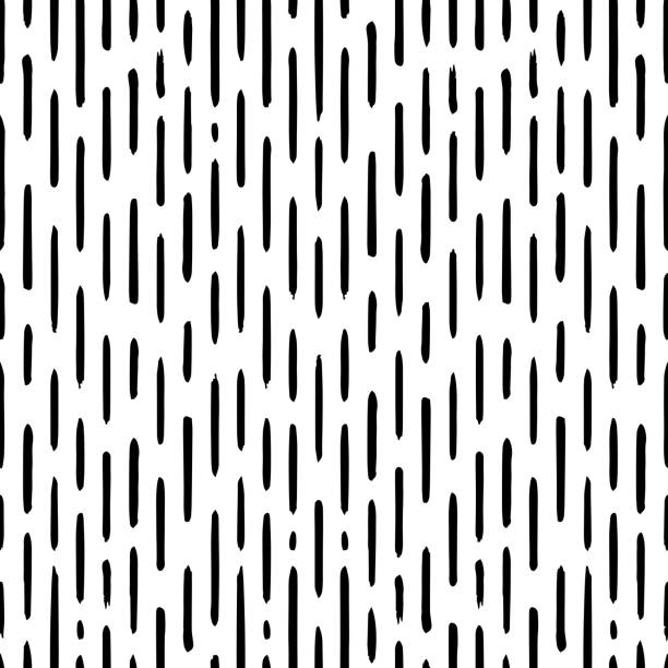 hand drawn striped seamless pattern with short vertical brushstrokes. texture for print, wallpaper, home decor, spring summer fashion fabric, textile, invitation background, paper - spring fashion stock illustrations, clip art, cartoons, & icons