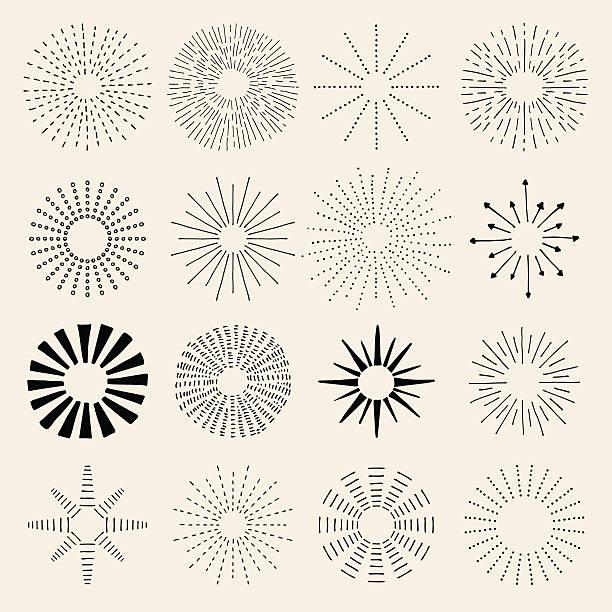 illustrazioni stock, clip art, cartoni animati e icone di tendenza di mano disegnata di klein - flare