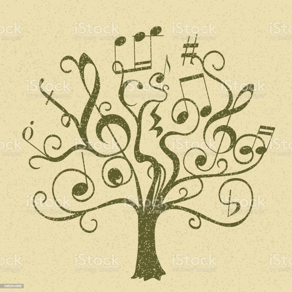 hand drawn tree royalty-free hand drawn tree stock vector art & more images of abstract