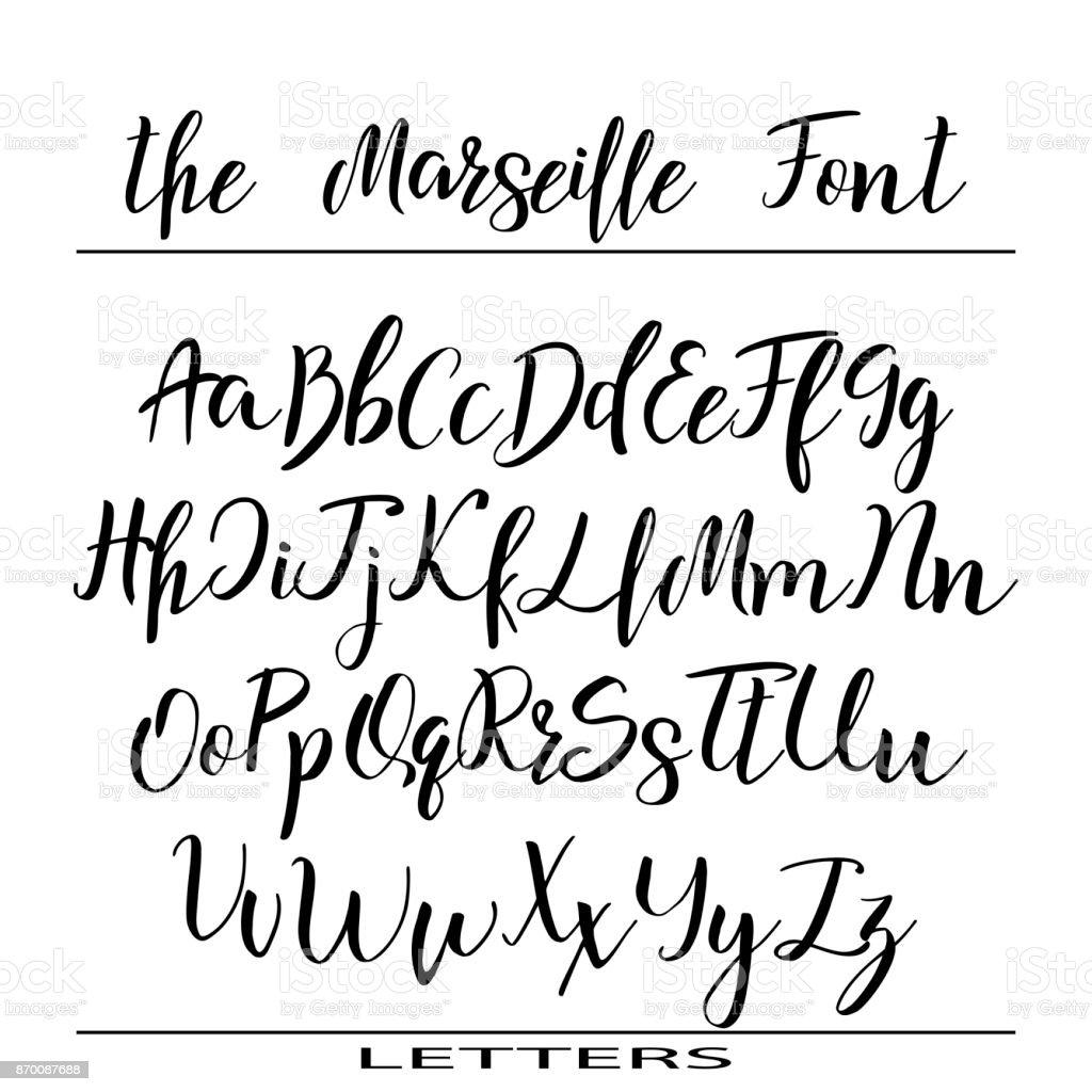 Hand getekende vector alfabet kalligrafie brieven voor uw ontwerp hand getekende vector alfabet kalligrafie brieven voor uw ontwerp royalty free hand getekende vector alfabet expocarfo