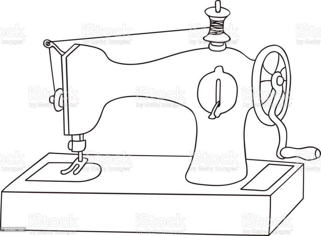 Ilustración de Vector Dibujado Mano Doodle Ilustración Vintage La ...