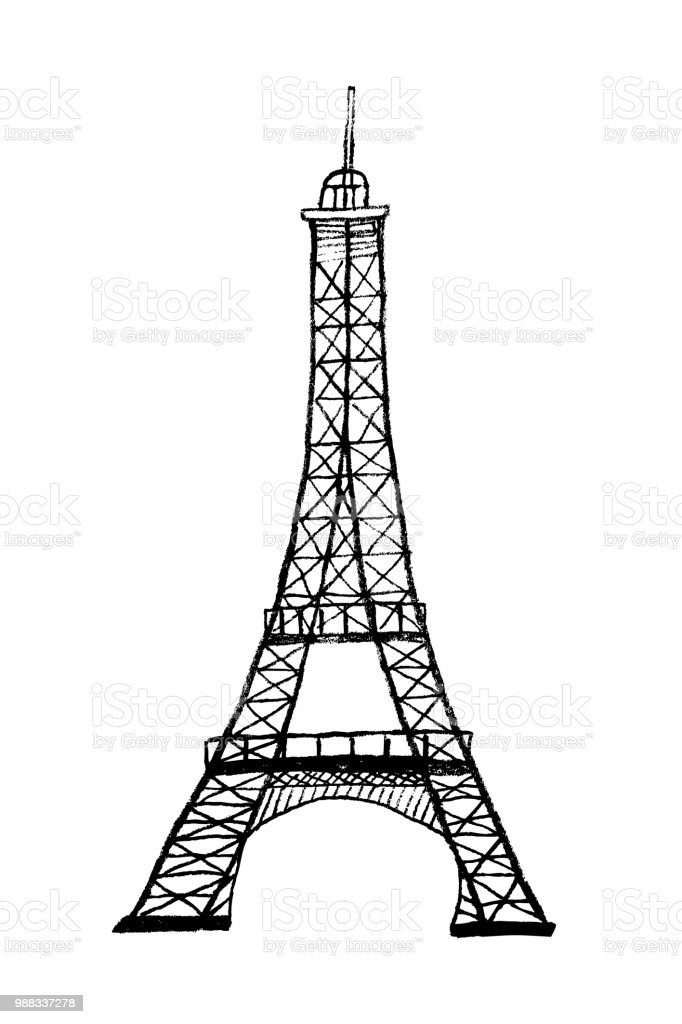 Hand drawn vector eiffel tower stock vector art more images of hand drawn vector eiffel tower royalty free hand drawn vector eiffel tower stock vector art thecheapjerseys Gallery