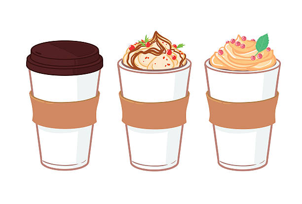 Royalty Free Latte Clip Art, Vector Images & Illustrations ...