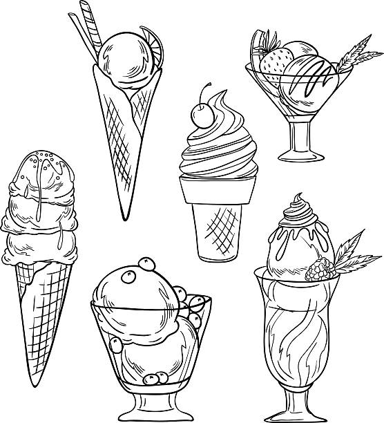 Top 60 Ice Cream Shop Clip Art Vector Graphics And Illustrations