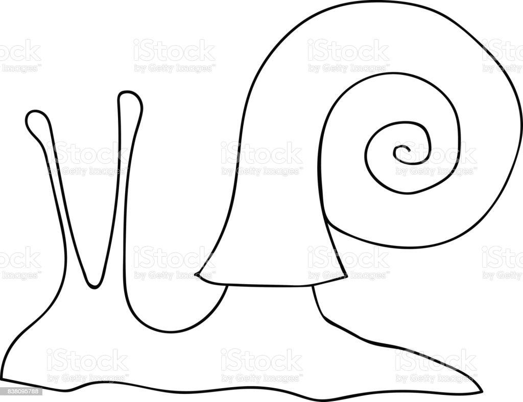 Coloriage Adulte Spirale.Dessine De Main Vector Illustration Spirale Coquille Descargot