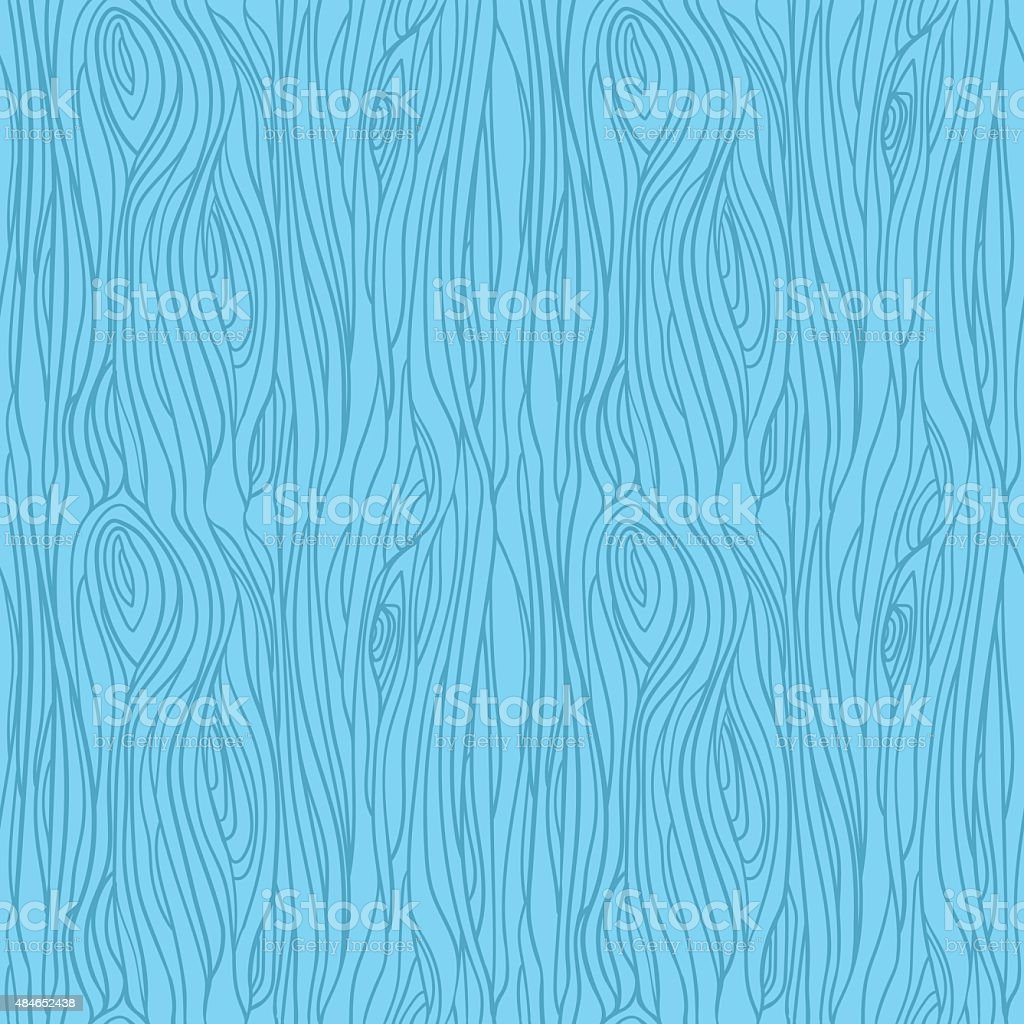 Hand drawn vector seamless pattern - Wood texture. vector art illustration