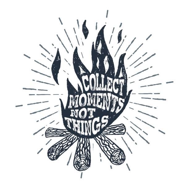 Royalty Free Beach Bonfire Clip Art, Vector Images ...
