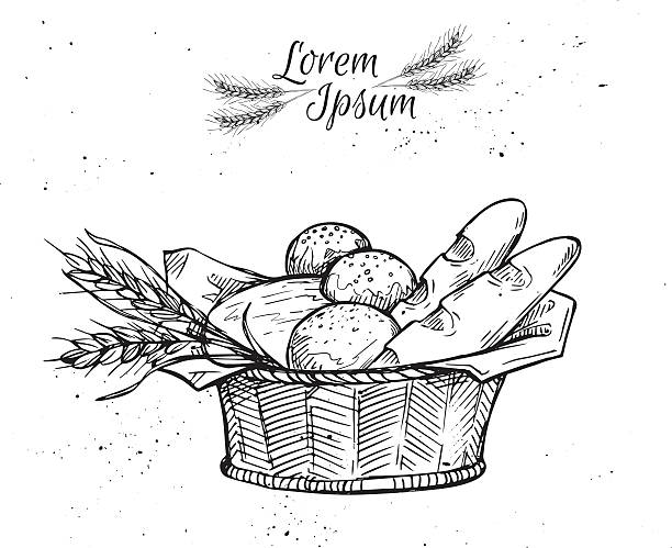 Best Bread Basket Illustrations, Royalty-Free Vector ...