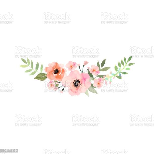 Hand drawn watercolor bouquet design for card invitation vector id1061714164?b=1&k=6&m=1061714164&s=612x612&h=9awpygu1ip6mkjxksjvh75vaa8 ky5qbcnzju9suzbo=