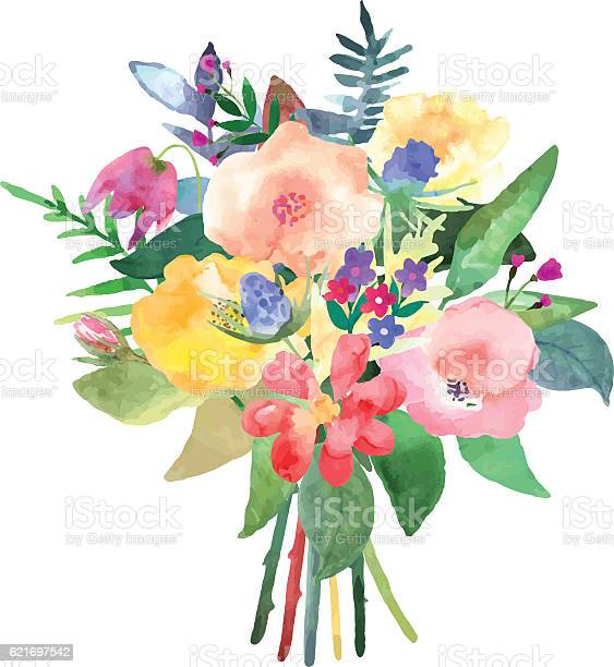Hand drawn watercolor bouquet isolated elements design for car vector id621697542?b=1&k=6&m=621697542&s=612x612&h=wf1j9p1cmuseqagndnltvwzgplqfa4alif8z0dmtlji=
