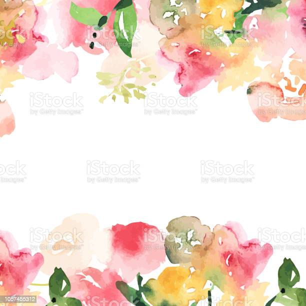 Hand drawn watercolor bouquet with place for youe text design for vector id1057455312?b=1&k=6&m=1057455312&s=612x612&h=u 61d30iczfz0ps2dxiwsew8botjnrknm7wj6f zi 4=
