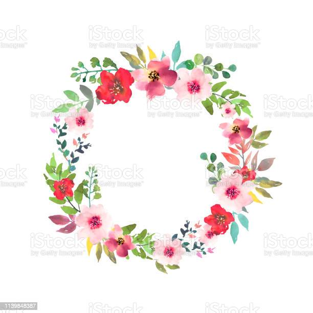 Hand drawn watercolor bouquet with place for your text floral with vector id1139848387?b=1&k=6&m=1139848387&s=612x612&h=nwucyusd io7wbhpnwooaalz7zi 6xdlav67usb68li=
