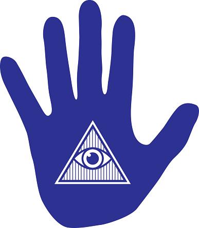 Hand Eye Icon