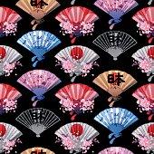 Hand fan pattern