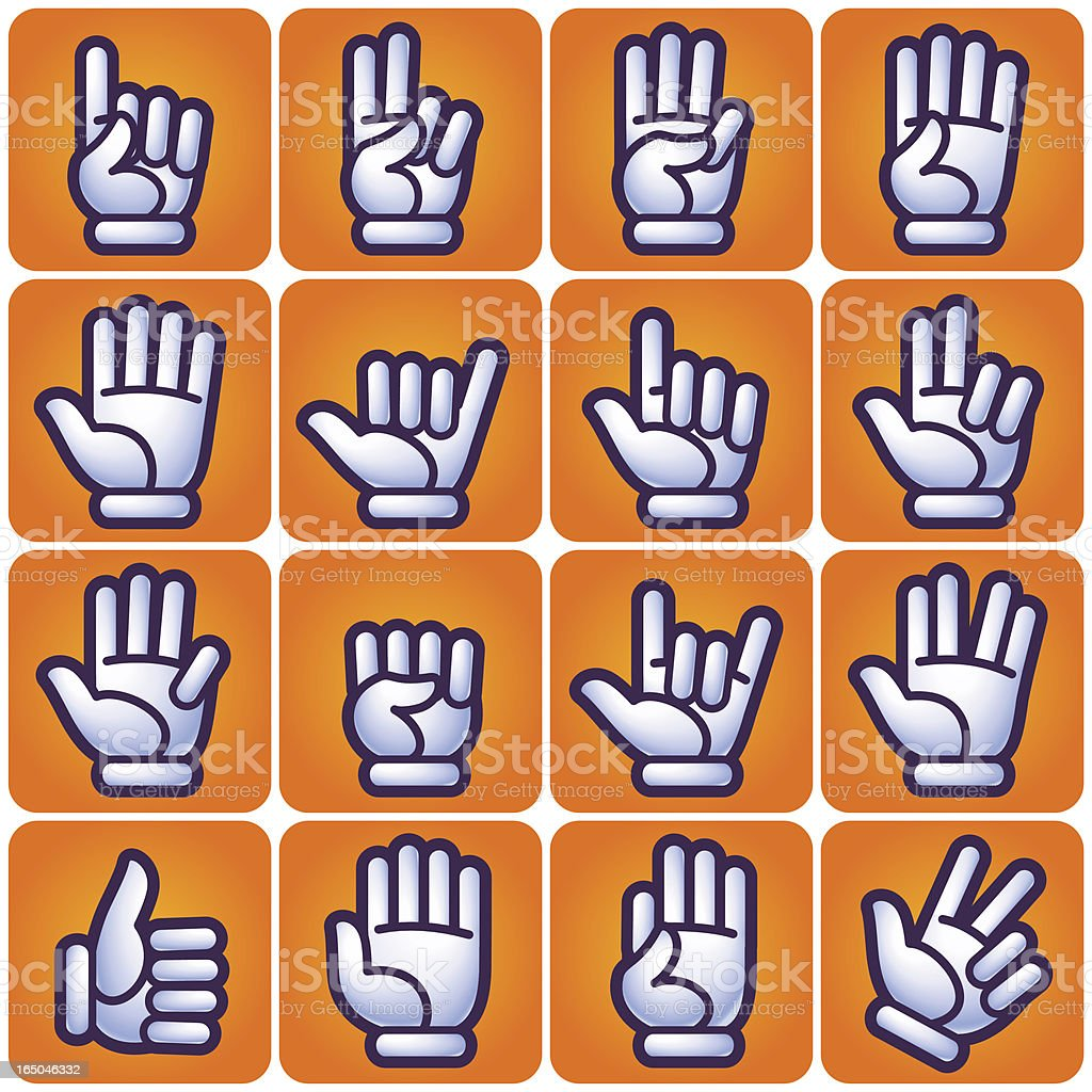 hand gestures royalty-free hand gestures stock vector art & more images of agreement