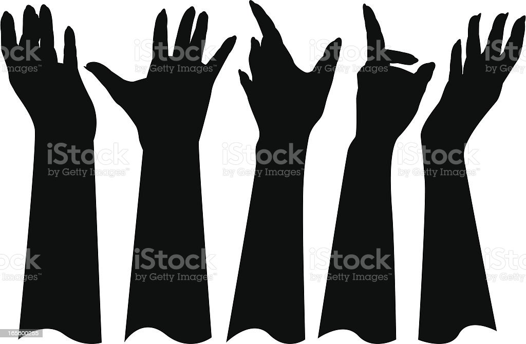 Hand Gestures royalty-free hand gestures stock vector art & more images of anxiety