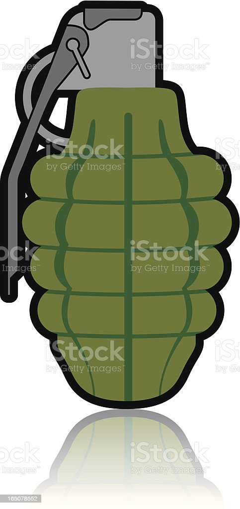 Hand Grenade royalty-free hand grenade stock vector art & more images of army