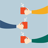 istock Hand Holding a Coffee Cup 1312855814
