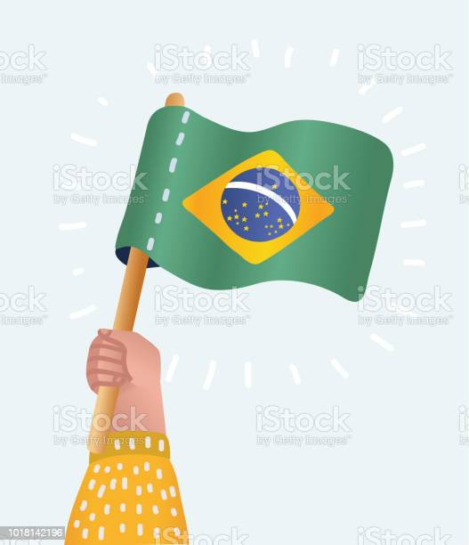 Hand holding and raising the national flag of brazil vector id1018142196?b=1&k=6&m=1018142196&s=612x612&h=inlugpqqmufzfmjccex5qiad9sisk7ebolzau ypuoa=