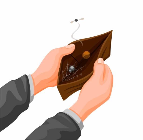 Empty Wallet Clipart