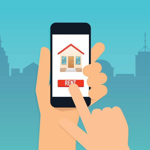 Best Apps For Rental Properties: Best Landlord Illustrations, Royalty-Free Vector Graphics