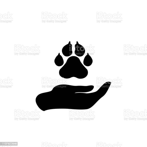 Hand holding paws animal protection icon vector vector id1137622646?b=1&k=6&m=1137622646&s=612x612&h=hd6kwti2tfpbgoicr cocxqfrivgusydssmhda 5jbs=