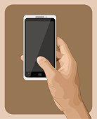 Hand Holding Smart Phone III