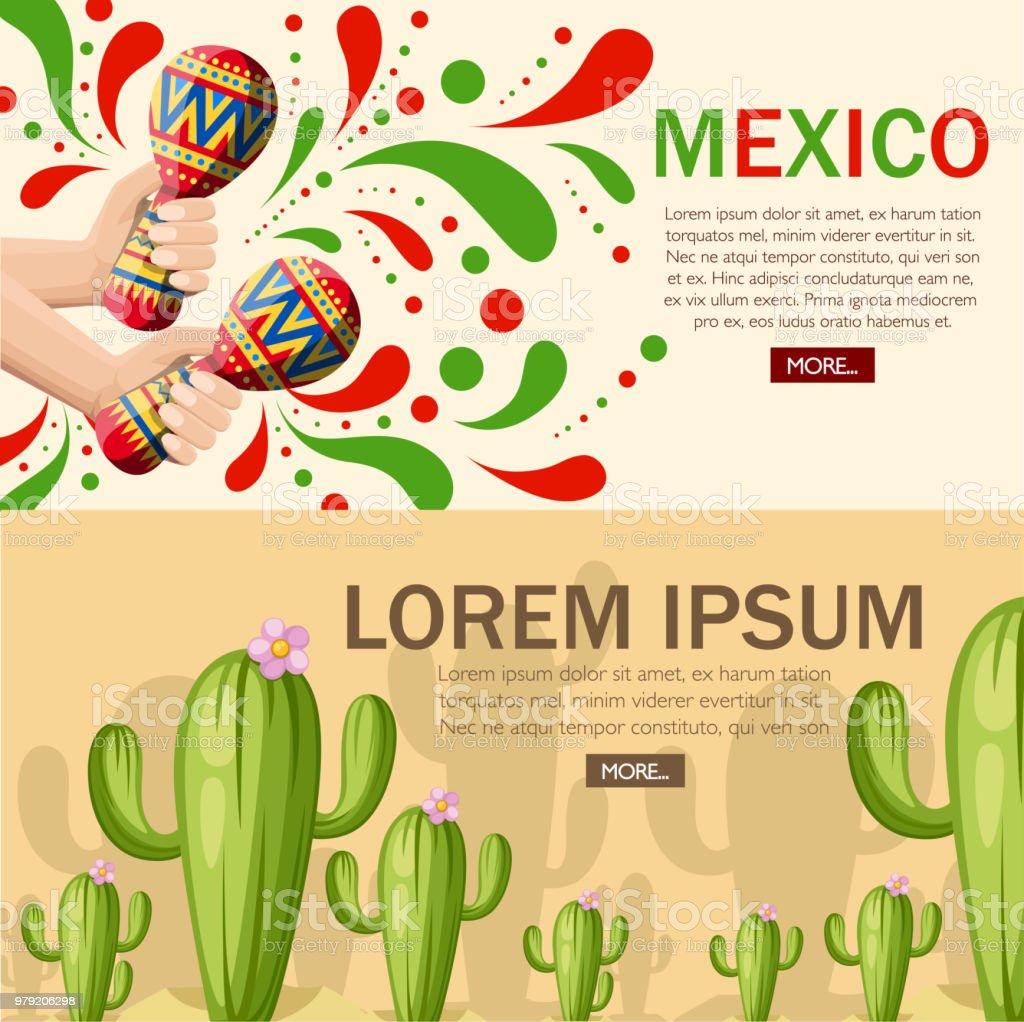 Main Tient Maracas Colores Cactus Vert Avec Fleur Rose Cactus Grand