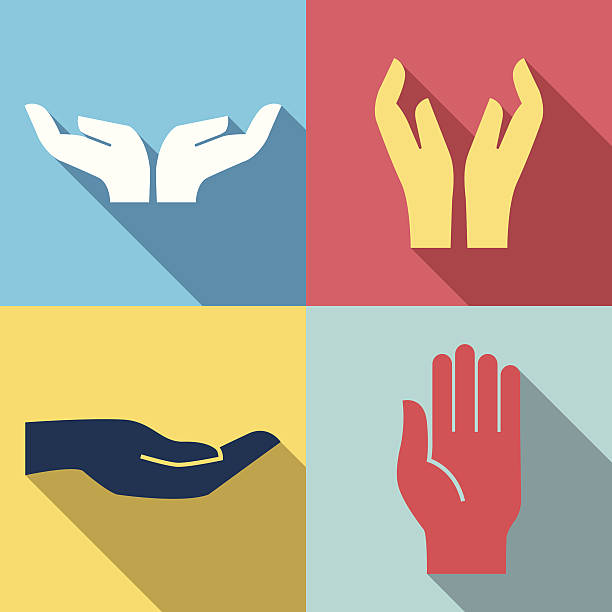 Royalty Free Outstretched Hand Clip Art, Vector Images ...