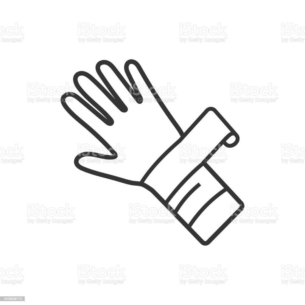 Hand Injury Icon vector art illustration