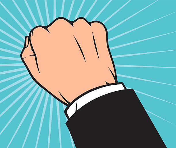 hand klopfen an der tür - türklopfer stock-grafiken, -clipart, -cartoons und -symbole