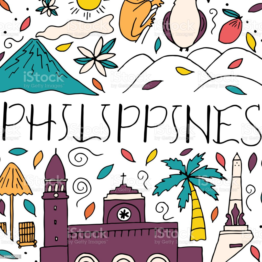 Philippines National Day Vector Template Design