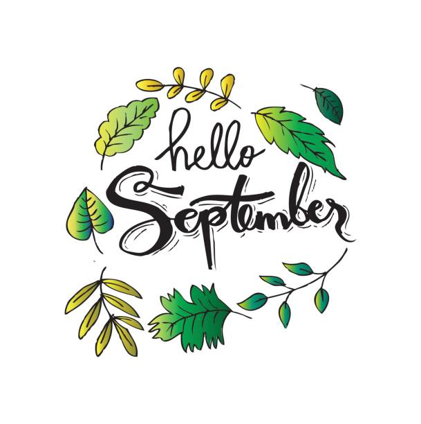 Top September Quotes Clip Art, Vector Graphics and