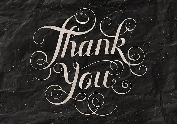 Best Thank You Card Illustrations, Royalty-Free Vector