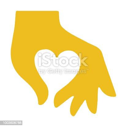 istock Hand Making Heart 1003608788