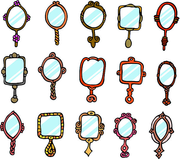 Best Hand Mirror Illustrations Royalty Free Vector
