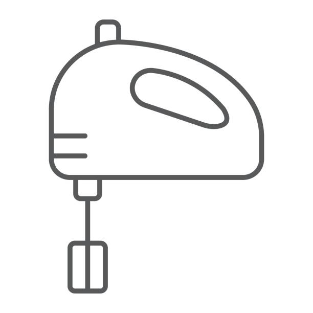 Hand Mixer Clip Art ~ Royalty free electric hand mixer clip art vector images