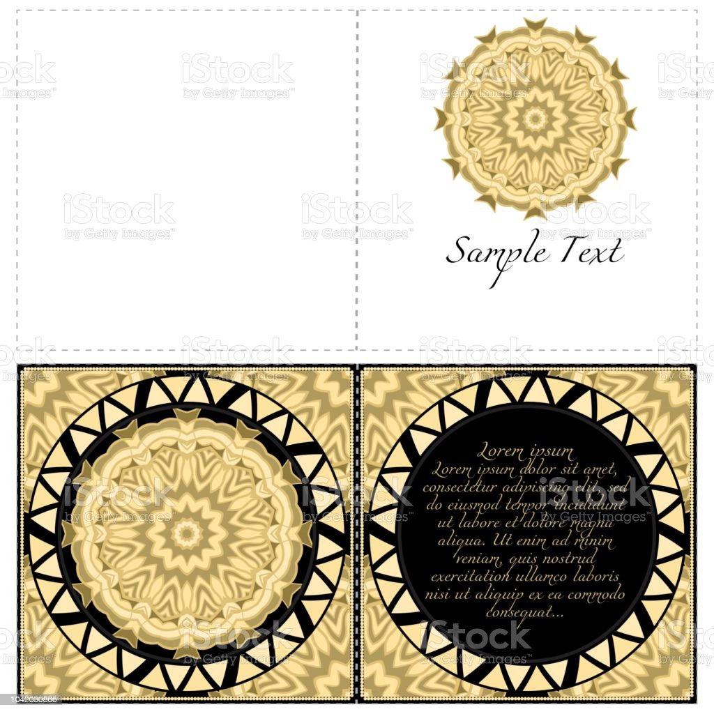 Hand Painted Texture Background For Invitation Card Wedding
