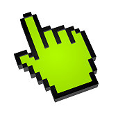 Hand pointer.