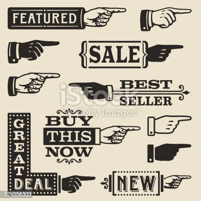 istock Hand Pointing Signs 174356303