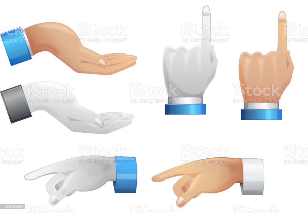 Hand Position royalty-free hand position stock vector art & more images of aiming