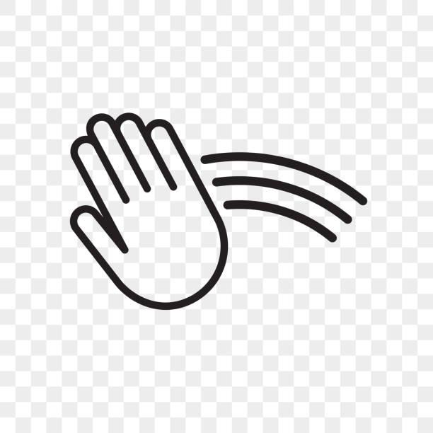 illustrazioni stock, clip art, cartoni animati e icone di tendenza di icona del vettore del sensore di mano. asciugamano e distributore di sapone, asciugamani automatici e segnale touch sensore rubinetto acqua - sensore