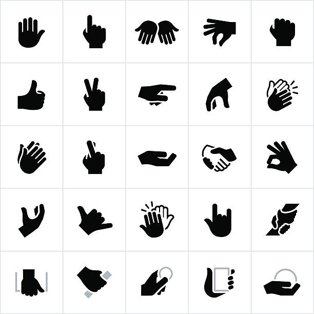 Best Sign Language Illustrations, Royalty-Free Vector