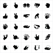 Hand Signals and Gestures Icons