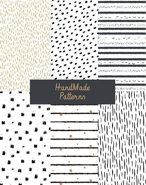 hand texturen von ink - hausgemacht stock-grafiken, -clipart, -cartoons und -symbole