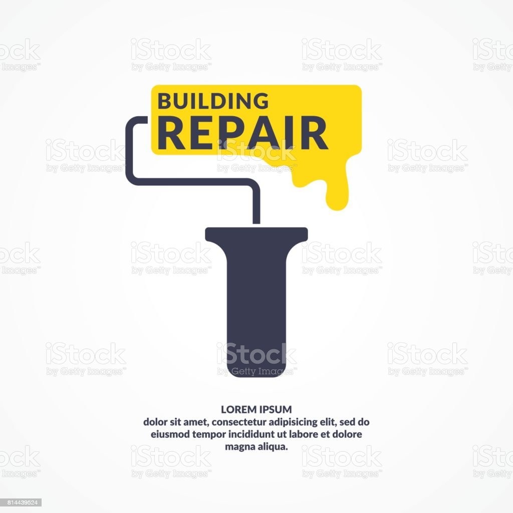 Hand tool for home renovation and construction. Building and house repair. vector illustration vector art illustration