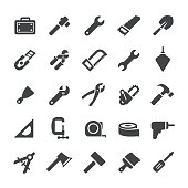 Hand Tool Icons - Smart Series